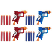 NERF N-Strike Elite Sonic Fire Sonic Ice Jolt Team Pack