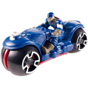 Hot Wheels Marvel Avengers Motorcycle with Rider