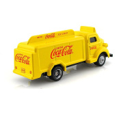 1:87 Scale 1947 Coca-Cola Bottle Truck- Yellow