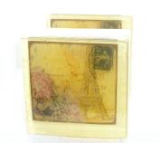 French Postcard Soap, carte de postale, vintage picture soap, (Eiffel Tower Post card) The Salt Baron soap