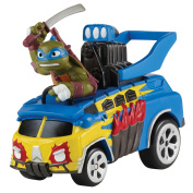 Teenage Mutant Ninja Turtles T-Machines Extreme Party Waggon with Leonardo Vehicle with Sound