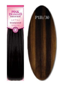 Pink Diamond Human Hair Extensions - Remi Spanish Wave 46cm - #P1B/30 Piano Dark Blonde - Size