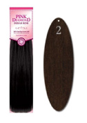 Pink Diamond Human Hair Extensions - Remi Loose Deep 30cm - #2 Brown/Black - Size