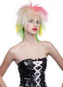 Adults Fancy Party Accessory 1980's Female Multicoloured Fake & Artificial Wig