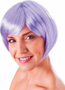 Ladies Fancy Dress 1980s Party Straight Short Artificial Hair Flirty Flick Wig