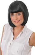 Ladies Fancy Dress Celebrities Party Fake & Artificial Hair Short Bob Mia Wig