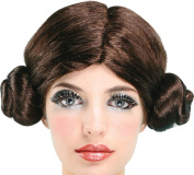 Ladies Fancy Dress Star Wars Party Space Princess Short Style Artificial Wig