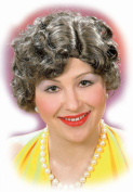 Ladies Fancy Dress 1970s Party Gretta Curly Short Fake & Artificial Wig
