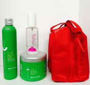 Compagnia Del Colore 001 Magic Shine & Repair Shampoo 300ml, 002 Magic Repair Mask 500ml and 013 Crystal Fluids 100ml