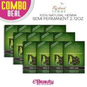12 Pcs Combo Deal Reshma Henna Semi Permanent Hair Colour 60ml