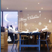 Susenstone® Christmas Decoration Window Stickers Home Decor