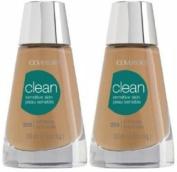 CoverGirl Clean Sensitive Skin Liquid Makeup #255 SOFT HONEY