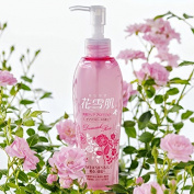 Hanayuki Exfoliating Cleansing Gel 6.8 fl oz (200ml), the aroma of Damask Roses