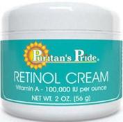 THE Best Retinol Cream 60ml Jar Puritan's Pride Vitamin a - 100,000 Iu Per Oz