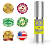 Elba n.4 - Daily Moisturiser with Sunscreen SPF 30 Broad Spectrum, Intense Day Cream - Non-Greasy, Fast Absorbing, 24 Hours Non-Comedogenic Rehydration - 30ml, Made in USA, 100.