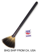 Fan Mask Brush Acid Applicator for Glycolic Lactic, Goat Bristles