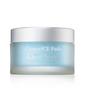 CopperICE Treatment Pads~ HELPS TO FIRM AND CLEANSE YOUR SKIN. BEST ACTIVE TREAMENT PADS WITH HYALURONIC ACID. SOFTENS FINE LINES AND STIMULATES COLLAGEN. SUITABLE FOR ALL SKIN TYPES. USE ANYTIME TO CLEANSE, TONE AND REMOVE MAKEUP. INFUSED WITH PROTECT ..