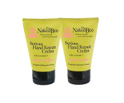 The Naked Bee Serious Hand Repair Cream Lotion - 2 Pack - Grapefruit Blossom Honey w/ Ceramide 3