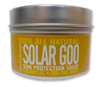 Sierra Sage Solar Goo Sun Protection Salve 120ml Tin