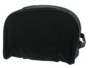 Men's Black Travel Bag Toiletry Shave Case Bag Dopp Kit