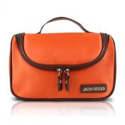 Hanging Travel / Cosmetic Makeup Ladies Toiletry Bag Orange