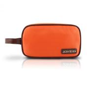 Travel / Cosmetic Makeup Ladies Clutch Toiletry Bag Orange