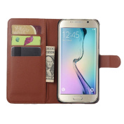 Lookatool® for Samsung Galaxy S6 edge plus Leather slot wallet Cover Case