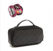 orota Quilted Cosmetic bagTravel Bag ,black