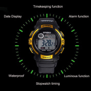 Voberry® Multifunction Children Boy Digital LED Quartz Alarm Date Sports Waterproof Wrist Watch