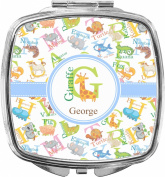 Animal Alphabet Compact Makeup Mirror