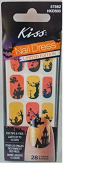 Kiss Nail Dress Halloween Haunted House Nail Stickers Limited Edition