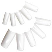 KingOfHearts 500 French White False Nail Tip With Box UV Gel/Acrylic