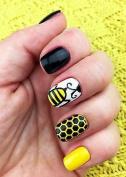 Honeycomb Nail Art Stencils - nail art vinyls