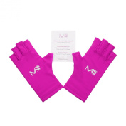 MelodySusie® UV Shield Glove Anti UV Glove for Gel Manicures with UV/LED Lamps