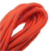 Paracord 550, Nylon Parachute Cord 4mm Thick, 4.9m, Reflective Orange