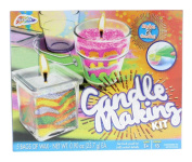 Grafix Candle Making Kit - Create Your Own Unique Candles with 5 Bags of Coloured Wax