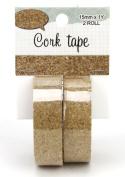 Kel-Toy Cork Washi Tape, 1.6cm X 1 yd