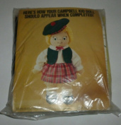 Vintage Campbell Soup Kid Girl Doll Kit