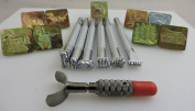 Springfield Leather Coompany's Wildlife Stamping Tool Sets