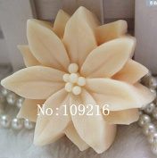 Creativemoldstore 1pcs Multi Petal Flower(zx00340) Craft Art Silicone Soap Mould Craft Moulds DIY Handmade Soap Mould
