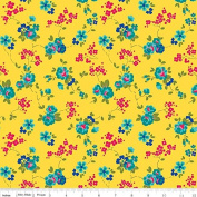 Olivia by Emily Hayes from Penny Rose Fabrics 100% Cotton Fabric - By the Yard C4242 Yellow
