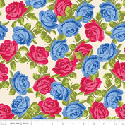 Olivia by Emily Hayes from Penny Rose Fabrics 100% Cotton Fabric - By the Yard C4241 Cream