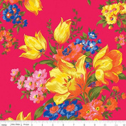 Olivia by Emily Hayes from Penny Rose Fabrics 100% Cotton Fabric - By the Yard C4240 Pink