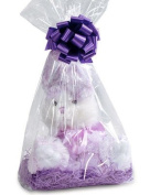 """CakeSupplyShop Item#42330 - 10pack Clear Cello/cellophane Bags Gift Basket Packaging Bags Cello Bags 20cm x 10cm x 18"""" Clear"""