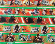 New Disney Star Wars VILLAINS Darth 6.5sqm Wrapping Paper