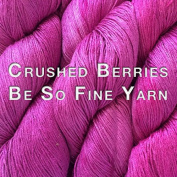 Kristin Omdahl Yarns Be So Fine Bamboo Yarn Crushed Berries