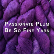 Kristin Omdahl Yarns Be So Fine Bamboo Yarn Passionate Plum
