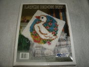 Vinatge 1988 Garden Duck (P449) Latch Hook Kit 30cm X 30cm National Yarn Crafts
