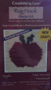 "Creations By Caron ""Apple""rug Hook Starter Kit"