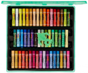 Camlin Kokuyo Oil Pastel Crayons Colour 50 Shades Assorted Colours